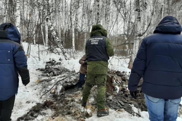Останки нашли недалеко от места, где ранее проводились поиски