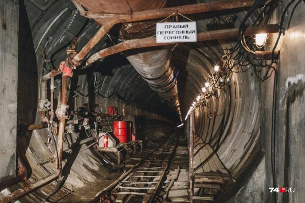 """Пока готовы <nobr class=""""_"""">3,3 километра</nobr> туннелей"""