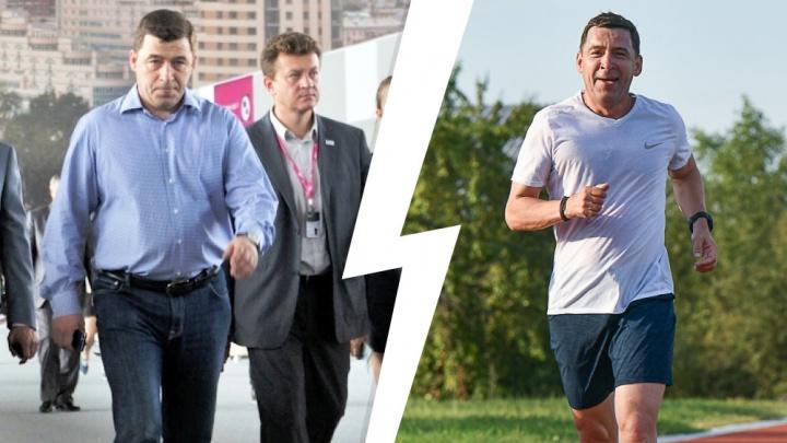 Губернаторская диета. Как Евгений Куйвашев похудел на 40 килограммов