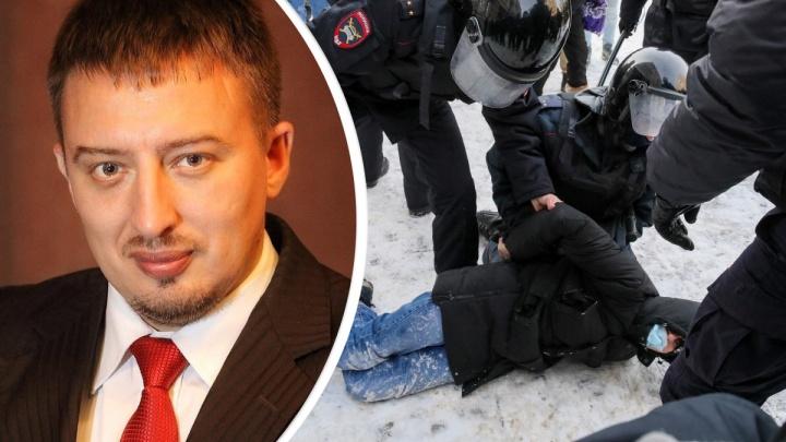 «Это усугубление проблемы»: Сергей Волков осудил избиения митингующих