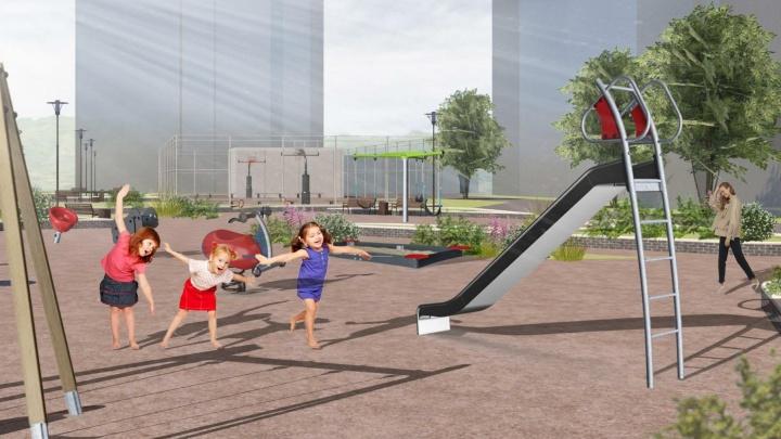 В Солнечном между дворами планируют благоустроить новый сквер за 11миллионов