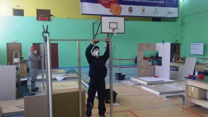 Подростки из колонии в Талагах выучились на мастеров ремонта и попали на конкурс профессионалов