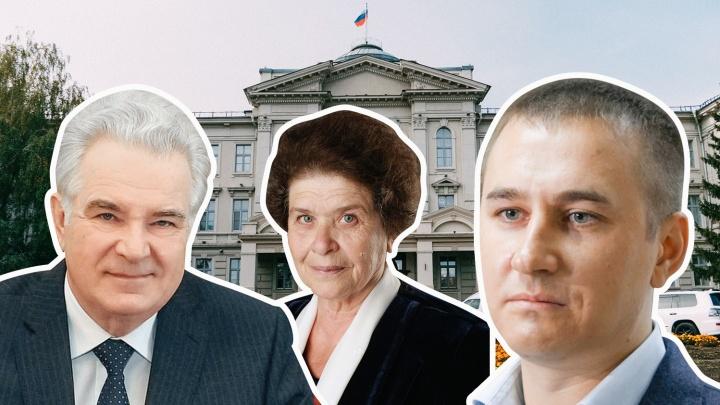 Шесть партий, пять женщин, один Берендеев: кто прошел в новый созыв Заксобрания Омской области
