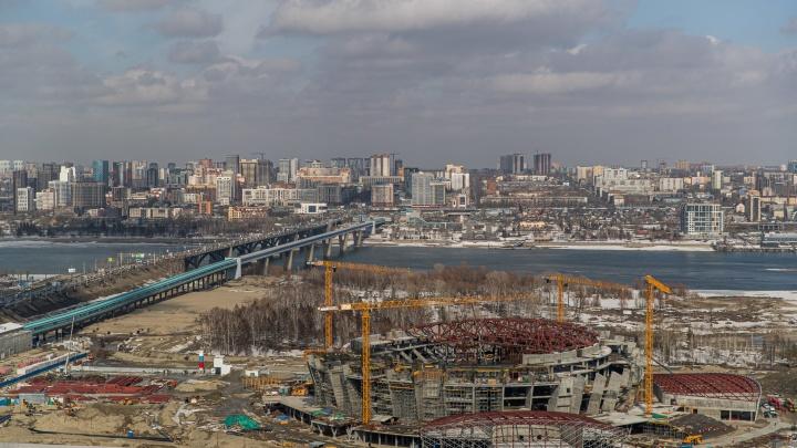 На покрытие дороги к новой ледовой арене в Новосибирске потратят 372 млн рублей