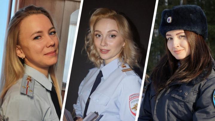 «Леди омская полиция»: голосуем за самую красивую девушку в погонах