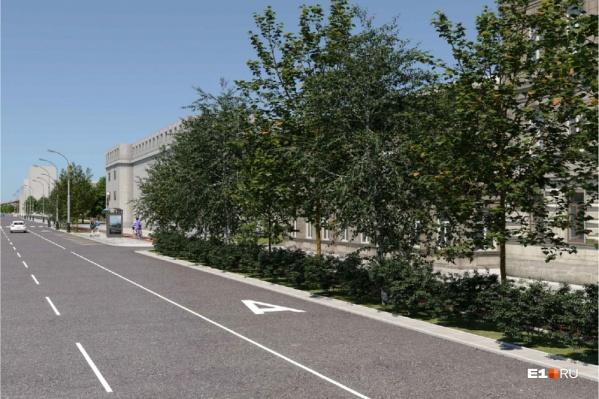 Во время грядущей реконструкции сто процентов парковок на Малышева могут исчезнуть