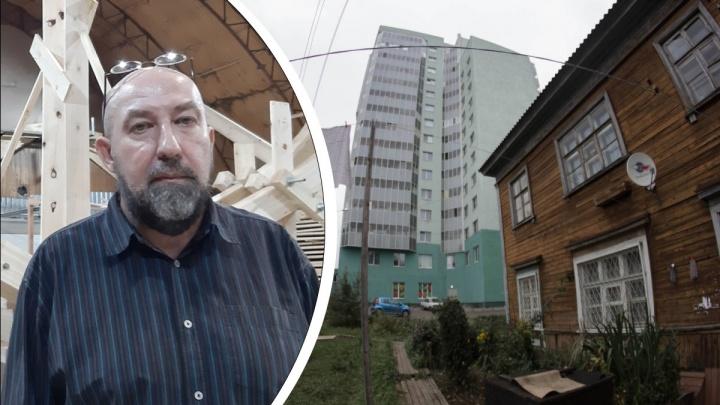 «Архитектору должны были поставить двойку»: художник Флоренский оценил внешний вид Архангельска