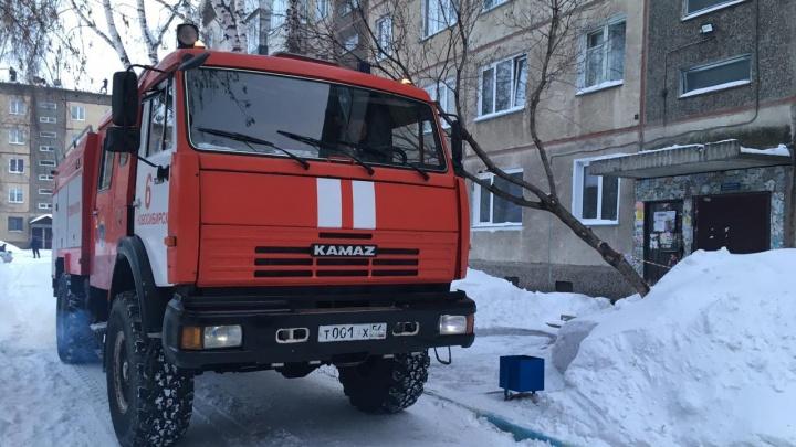 В Ленинском районе загорелась квартира — впожаре погиб мужчина
