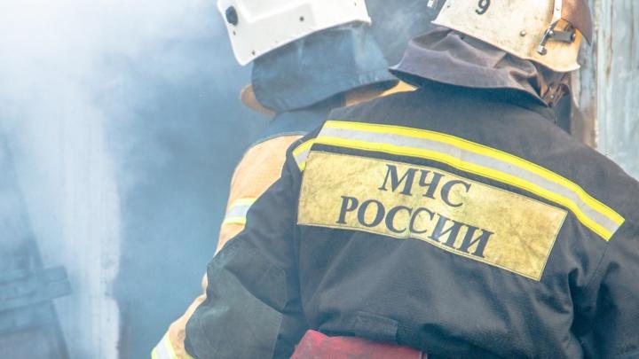 На Куйбышевском нефтеперерабатывающем заводе произошел пожар