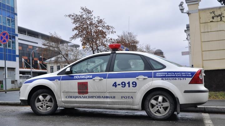 В Екатеринбурге арестовали мужчину, который сбил на Audi инспектора ДПС