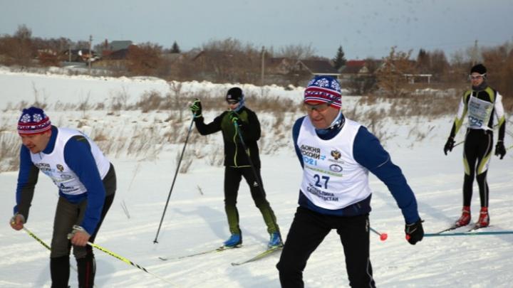 Мэр Уфы и замглавы Правительства Башкирии устроили гонки на лыжах