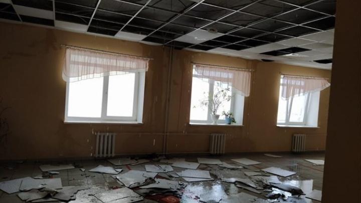 В Уфе школу затопило кипятком