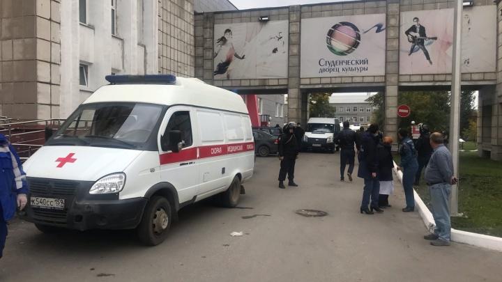 СК: стрелявший в пермском университете купил охотничье гладкоствольное ружье в мае этого года