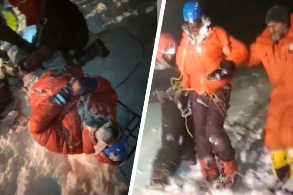 В спасательной операции участвовали сотрудники МЧС и волонтеры