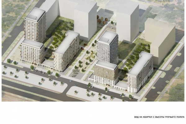 Новый квартал «Синары» в Новокольцовском будет соединен с инфраструктурой, которая появится к Универсиаде