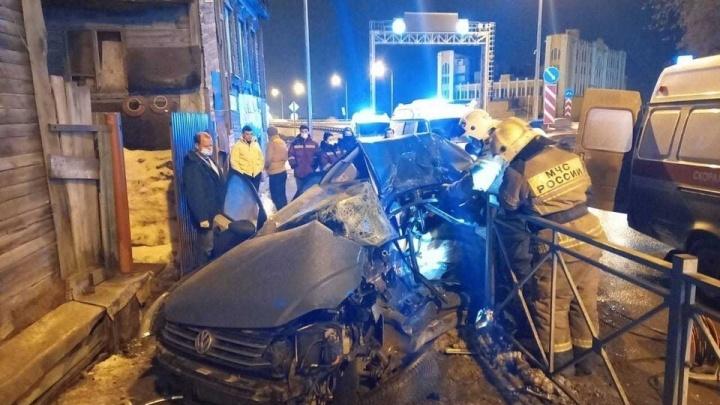 Стало известно об еще одном пострадавшем в ДТП у Фрунзенского моста