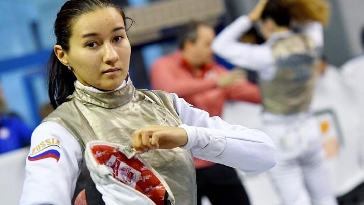 Уфимская фехтовальщица Аделина Загидуллина взяла золото на Олимпиаде