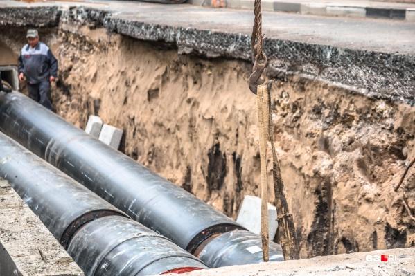 Дорогу перекроют из-за ремонта теплотрассы