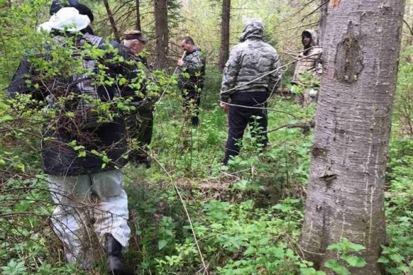Пропавшего искали спасатели, сотрудники МВД и кинолог с собакой от ФСИН