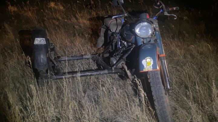 В Челябинской области 14-летний подросток на мотоцикле устроил смертельное ДТП