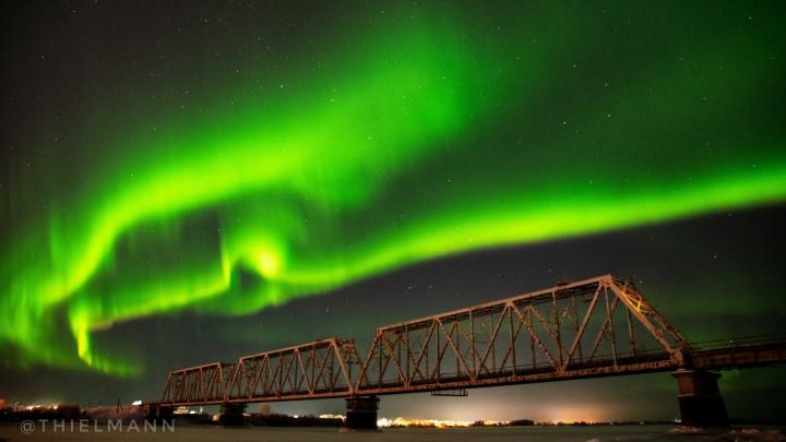 Это надо видеть: делимся красивыми снимками северного сияния в Архангельской области