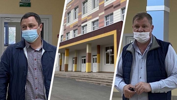 «Надеемся на диалог с правительством»: застройщик школы в Кетово провел встречу с местными жителями