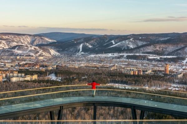 Юлия Верхушина убеждена, что новая смотровая в Красноярске — мирового уровня в плане архитектуры