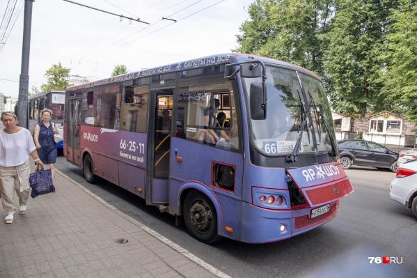 "«Гирфтранс» не проработал в Ярославле на маршруте <nobr class=""_"">№ 66</nobr> и месяца"