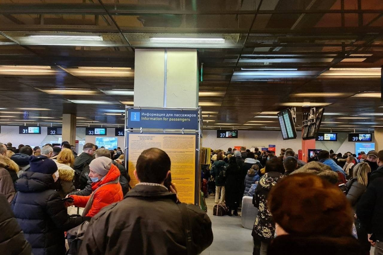 В работевнутриаэропортовых сервисов произошел сбой