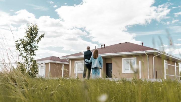 Маткапитал с пользой: в коттеджном поселке у озера продают дома с участками до 10 соток
