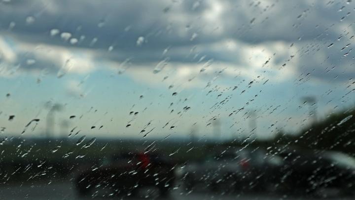 На Уфу идут дождь, гроза и шквалистый ветер