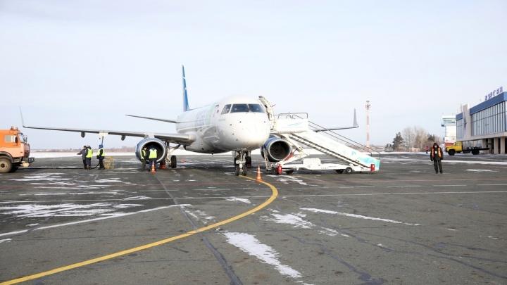 В аэропорту Кургана изменилось количество рейсов до Москвы