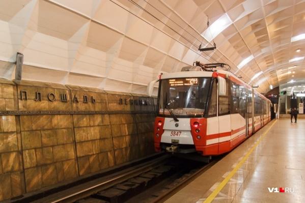 В Ростове обсуждали идею метро, как в Волгограде — скоростной трамвай с подземными участками
