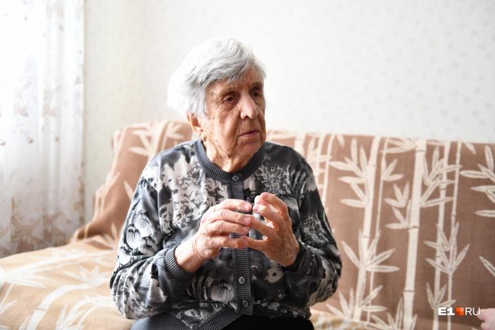 Самым тяжелым временем в жизни бабушка называет военные годы