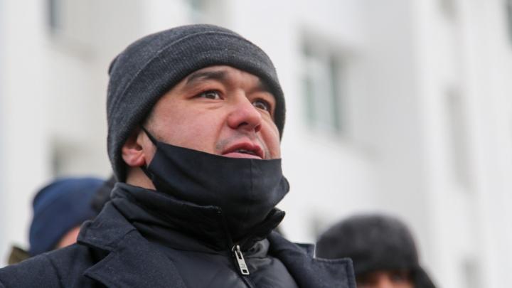 В Уфе задержали сторонника Навального Урала Байбулатова