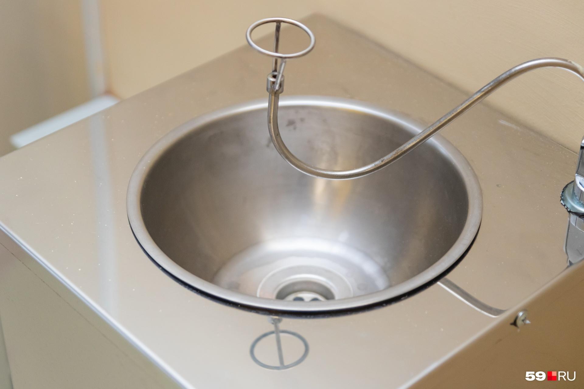 Фонтанчик с чистой водой для питья
