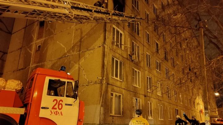 По факту гибели людей при пожаре в Уфе возбуждено уголовное дело