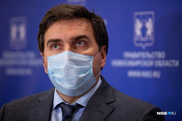 Ранее министр отказался ответить на вопрос журналистов о вакцинации