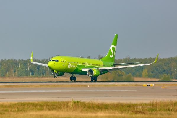 Летать в Салоники будет авиакомпания S7 на «Боингах»