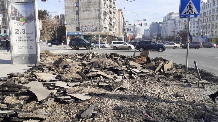 Мэр Новосибирска возмутился отпуском начальника управления дорог — тот пошел отдыхать до того, как закончился ремонт