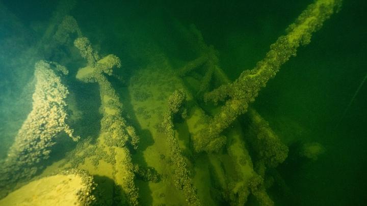 «Льдом раздавило носовую часть, и он опустился на дно»: на петербургском канале рассказали о старинном пароходе, найденном в Прикамье