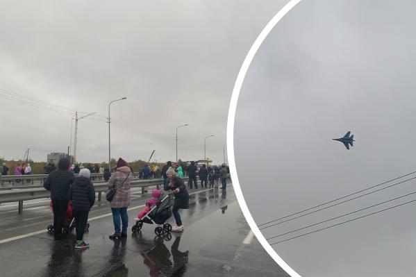 Сургутяне были разочарованы непродолжительным выступлением «Русских Витязей»