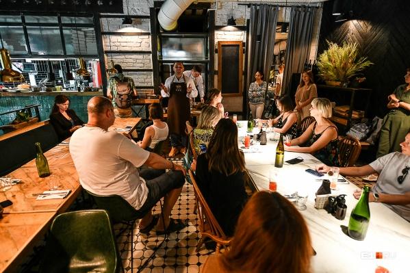 Лучшие рестораны Екатеринбурга выбирает жюри из 100 экспертов