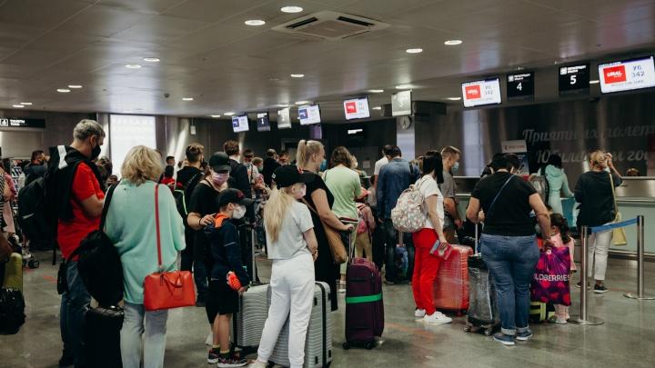 В расписании Рощино появились три новых прямых рейса — на юг и запад России