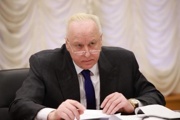 Александр Бастрыкин будет следить за ходом расследования