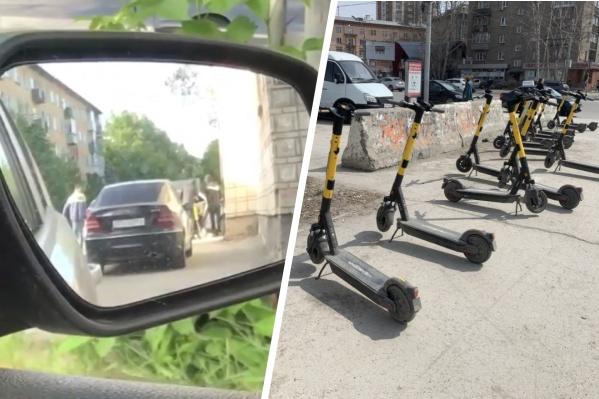 Преступник действовал днем в Ленинском районе, но задержали его уже в Кировском