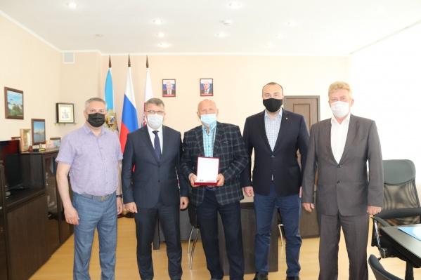 Церемония награждения прошла в администрации Северодвинска