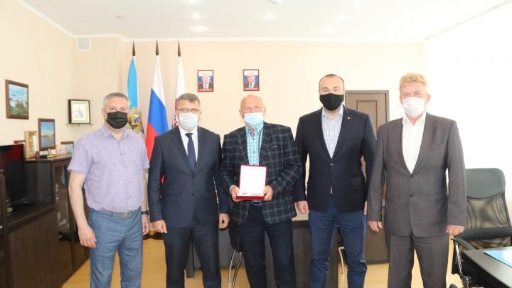 Союз профессиональных строителей вручил северодвинцу орден «За заслуги в строительстве»