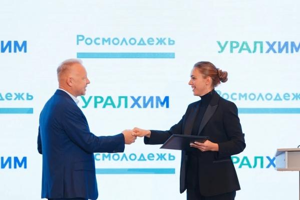 Соглашение подписали Дмитрий Мазепин и Ксения Разуваева