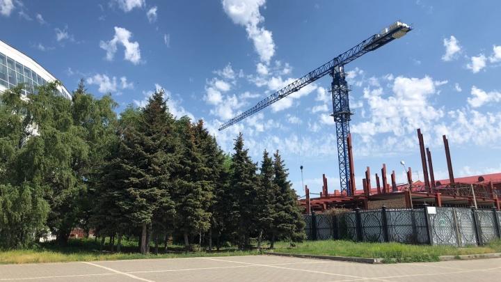 Высоту гостиницы у Омской крепости решили увеличить до 11 этажей